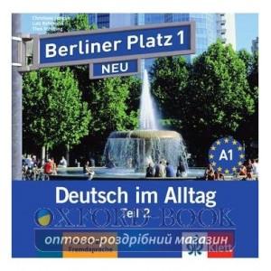 Berliner Platz 1 NEU CD zum Lehrbuch Teil 2 ISBN 9783126060684
