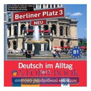 Berliner Platz 3 NEU CD zum Lehrbuch Teil 1 ISBN 9783126060752