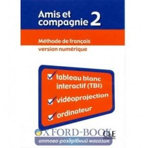 Книга для вчителя Amis et compagnie 2 teachers book Samson, C ISBN 9782090325607