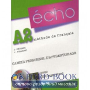 Echo A2 Cahier dexercices + CD audio + corriges ISBN 9782090385687