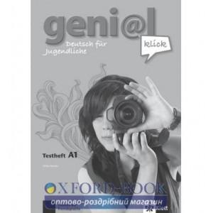 Робочий зошит для тестов geni@l klick A1 Testheft + CD ISBN 9783126062855