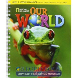 Our World 1 Lesson Planner + Audio CD + Teachers Resource CD-ROM Crandall, J ISBN 9781285455617