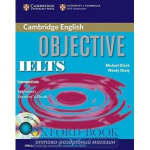 Книга Objective IELTS Intermediate Students Book with answers with CD-ROM Capel, A. ISBN 9780521608855