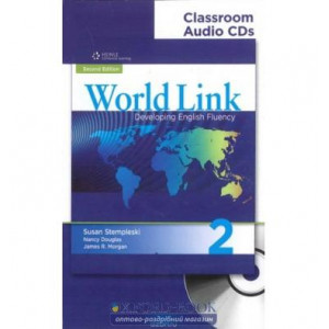 Диск World Link New 2 Class Audio CDs (2) ISBN 9781424065929