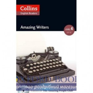 Amazing Writers with Mp3 CD Level 4 MacKenzie, F ISBN 9780007545063