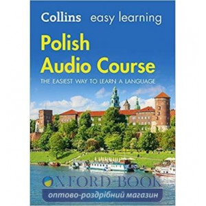 Аудио диск Collins Easy Learning Polish Audio Course New Edition ISBN 9780008205720