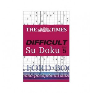 Книга The Times Difficult Su Doku. Book5 The Times Mind Games ISBN 9780007440344