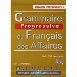 Граматика Grammaire Progressive du Francais des Affaires Intermediaire Livre + CD ISBN 9782090381580