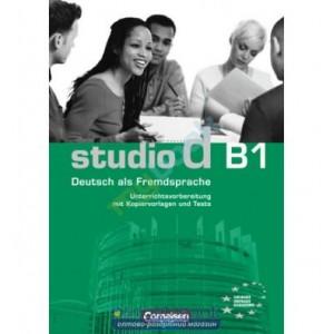 Тести Studio d B1 Testvorbereitungsheft mit CD Pistorius, H ISBN 9783060200498
