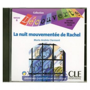 Decouverte 6 La nuit mouvementee de Rachel CD audio ISBN 9782090326925