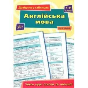 Англійська мова довідник у таблицях7-11 класи