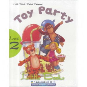 Level 2 Toy Party (with CD-ROM) Mitchell, H ISBN 9789604783816