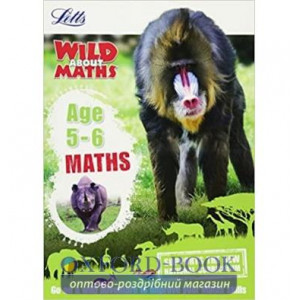 Книга Letts Wild About Maths: Maths Age 5-6 ISBN 9781844198818
