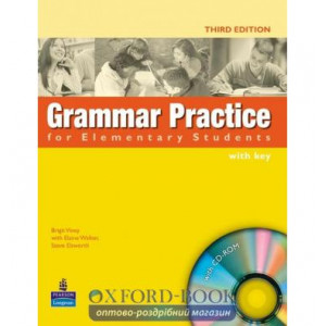 Grammar Practice for Elementary with key with CD ISBN 9781405852944
