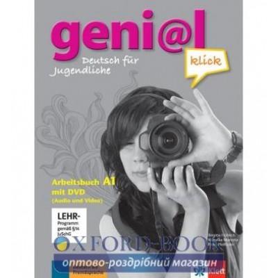 Робочий зошит geni@l klick A1 Arbeitsbuch + DVD ISBN 9783126062824 купить оптом в Украине