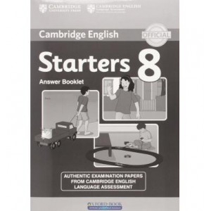 Книга Cambridge YLE Tests 8 Starters Answer Booklet ISBN 9781107620049