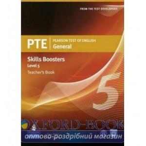 Книга для вчителя PTE Test of English General Skills Booster 5 Teachers book+CD Pack ISBN 9781408277966