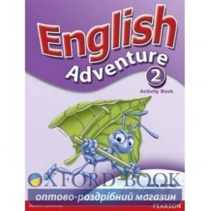 Робочий зошит English Adventure 2 Робочий зошит ISBN 9780582791749