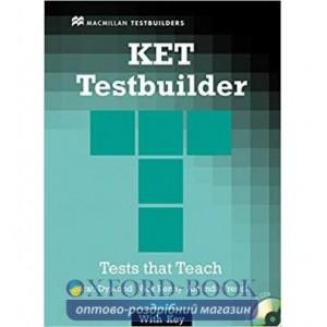 Книга для вчителя KET TesTeachers Bookuilder + key + Audio CDs ISBN 9781405069762
