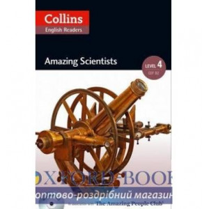 Amazing Scientists with Mp3 CD Level 4 MacKenzie, F ISBN 9780007545001