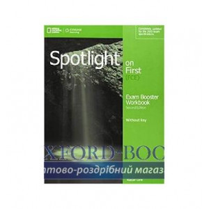 Робочий зошит Spotlight on First 2nd Edition Exam Booster Workbook without Key with Audio CDs ISBN 9781285849515
