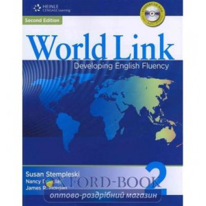 Підручник World Link New 2 Students Book with CD-ROM Stempleski, S ISBN 9781424068197