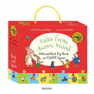 Книга Tales from Acorn Wood: Hide-and-Seek Pig Book and Jigsaw Set Donaldson, J. ISBN 9781509857401