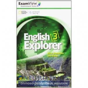 English Explorer 3 ExamView CD-ROM Stephenson, H ISBN 9781111356972
