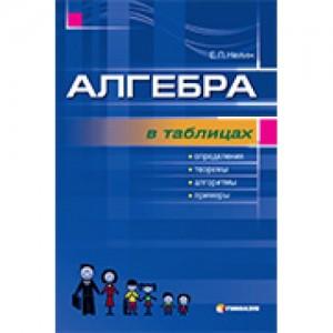 Алгебра в таблицях Навчальний посібник для учнів 7-11 класів