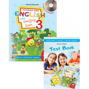 НУШ - 3 - Робочий зошит для 3 класу Activity Book + інтерактивна програма