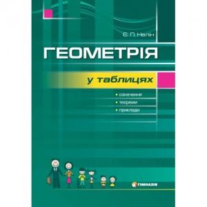 Геометрія в таблицях Навчальний посібник для учнів 7-11 класів
