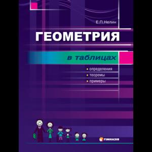 Геометрия в табл Опред,теорпримеры Учебное посдля учащ7-11кл