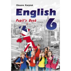 Англійська мова для 6-го клас Підручник + мультимедійний додаток